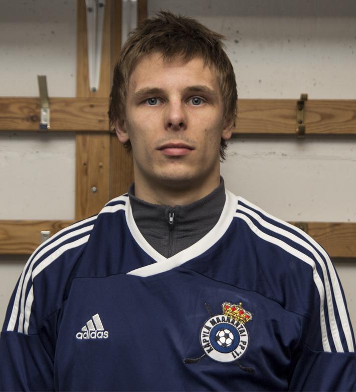 Jussi Salonniemi valittiin jalkapallokauden 2013 parhaaksi pelaajaksi