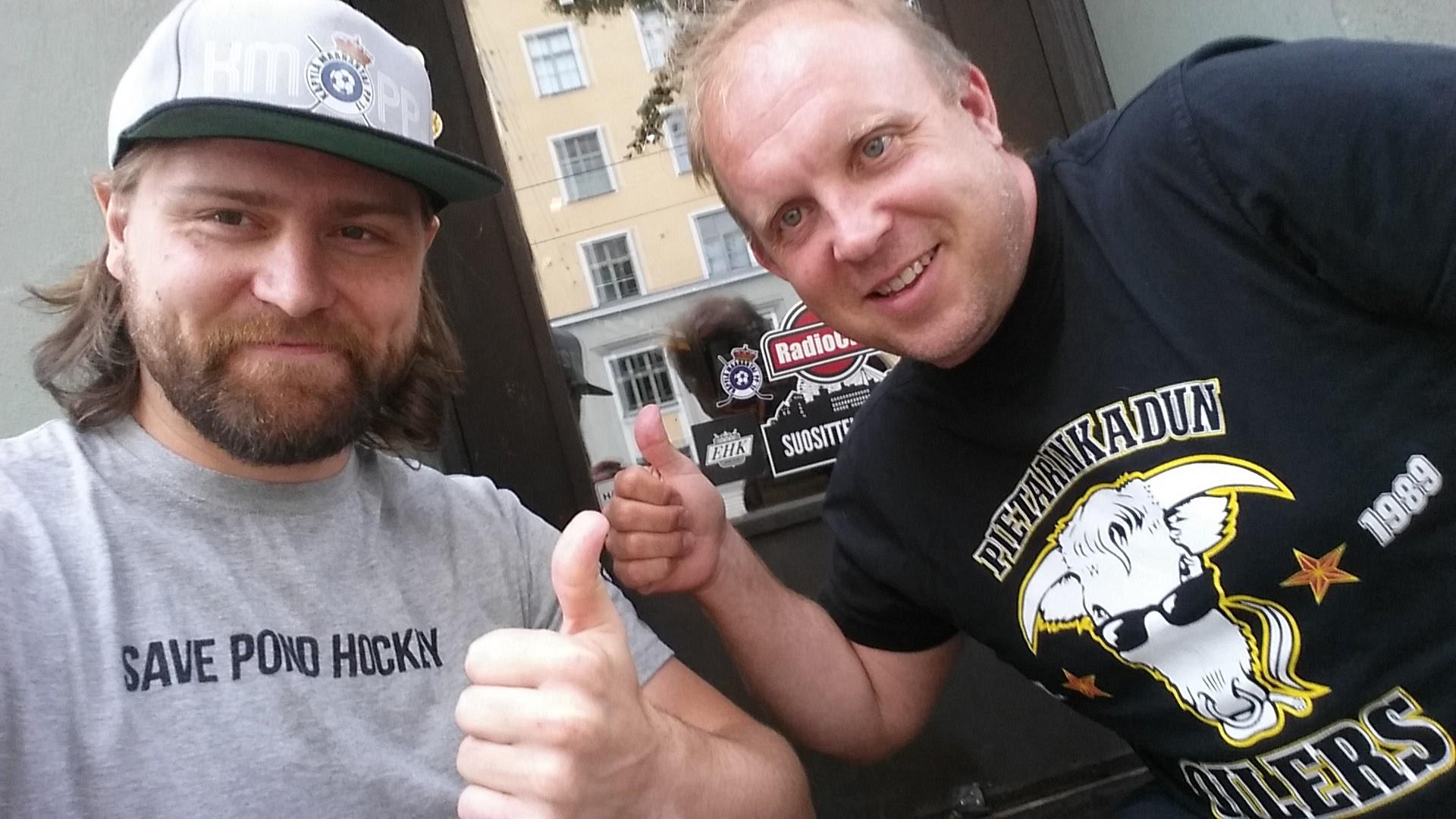 Svante Suominen, Jyri Penttilä