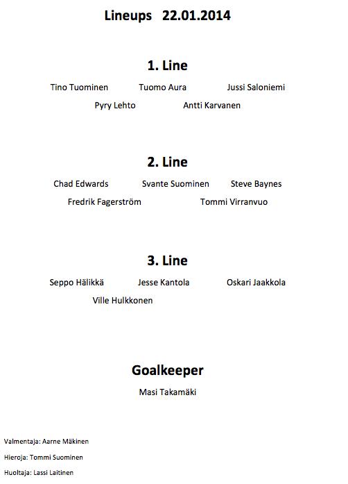 lineups.22.1.2014